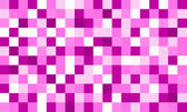 matrix of bright pink coloured squares, valentine theme