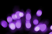 purple glowing bokeh light effect