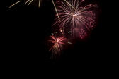 a bonfire night (november 5th) firework display