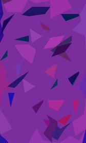 a triangular stylised purple camouflage pattern