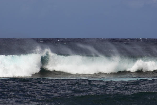 high surf on the north shore of oahu, hawaii