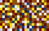 matrix background of muted coloured squares