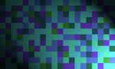 matrix of squares under a spotlight effect