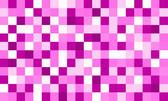 matrix of bright pink coloured squares, valentine theme