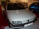 editorial use: record breaking peugeot 405 saloon car