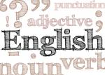 hand drawn effect type spelling English and various language related concepts